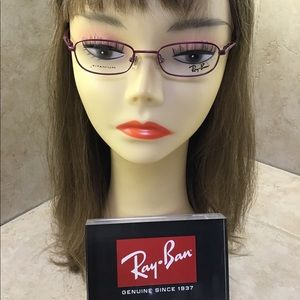 Ray-Ban Childrens Titanium Pink Eyeglass Frame